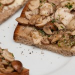 mushrooms with lemon juice and thyme
