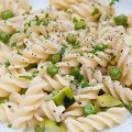 pasta primavera (or sth. similar)