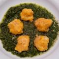 kürbisgnocchi mit spinat