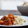 kürbis-tajine mit dattel-couscous