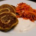 alu patra – würzige kartoffelschnecken