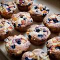 heidelbeer-nektarinen-frischkäse-muffins