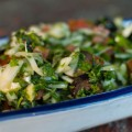 fenchelsalat mit oliven und tomaten